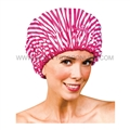 Betty Dain Pink Peppermint Shower Cap 5220