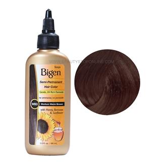 Bigen Medium Warm Brown Wb3 Semi Permanent Hair Color