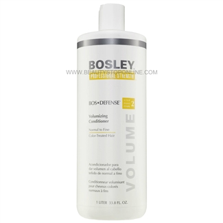 Bosley Bos Defense Volumizing Conditioner For Color-Treated Hair, 33.8 oz