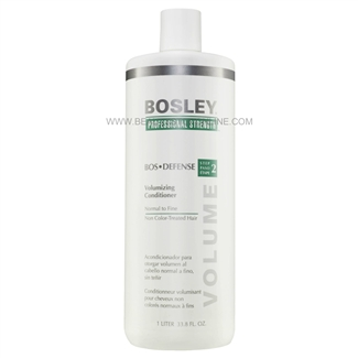 Bosley Bos Defense Volumizing Conditioner For Non Color-Treated Hair, 33.8 oz