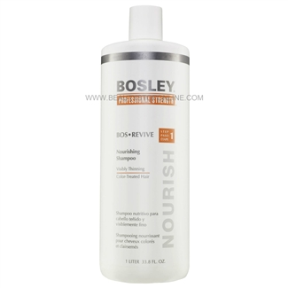 Bosley Bos Revive Nourishing Shampoo For Color-Treated Hair, 33.8 oz
