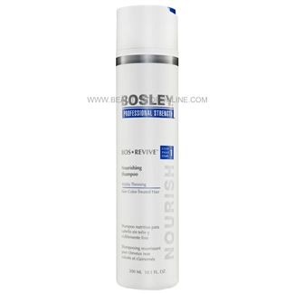 Bosley Bos Revive Nourishing Shampoo For Non Color-Treated Hair, 10.1 oz