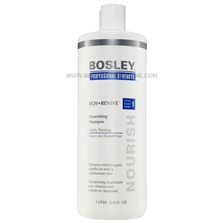 Bosley Bos Revive Nourishing Shampoo For Non Color-Treated Hair, 33.8 oz