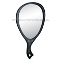 Diane Teardrop Mirror Black