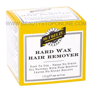 No-Tweeze Hard Wax Hair Remover - 4 oz
