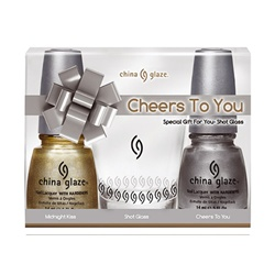 China Glaze Holiday Prepack - Cheers To You