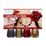 China Glaze Holiday Prepack - Celebrate In Style