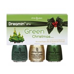 China Glaze Holiday Prepack - Dreamin' of a Green Christmas