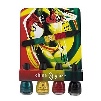 China Glaze Mini One Love Collection - 4/pc