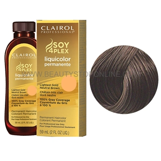Clairol LiquiColor Permanente 4AA/37D Light Ultra Cool Brown