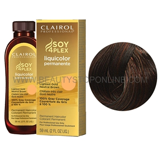 Clairol LiquiColor Permanente 4R/45R Light Red Brown