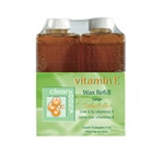 Clean & Easy Large Vitamin E Wax Refill (6pk)