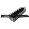 "Cleopatra 410 7"" Flat Back Styler Comb 12 Piece"