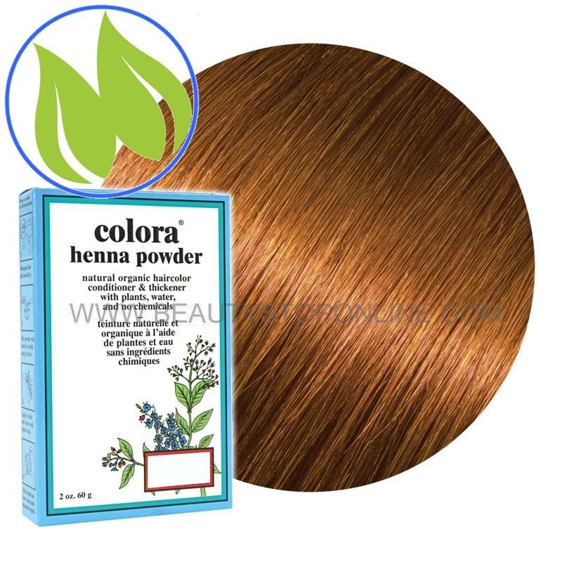 Colora Henna Powder Golden Brown 2 Oz Beauty Stop Online