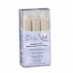 Nice 'N Neat Zinc Oxide Wax Medium Replacement Cartridges - 3 pack
