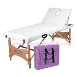 Satin Smooth Facial Waxing Bed w/Nylon Bag