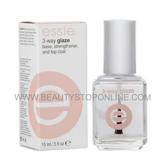 essie 3-Way Glaze #6023