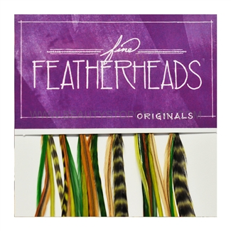 Fine FeatherHeads Original Extensions Green