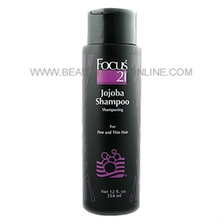 Focus 21 Jojoba Hair Shampoo - 12 oz