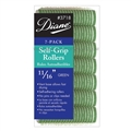 "Diane Self Grip Rollers 11/16"" Green, 7 Pack"