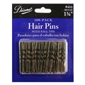 "Diane 1 3/4"" Bronze Hair Pins, 100 Pack"