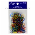 Diane Rubber Bands Assorted Colors, 250 Pack