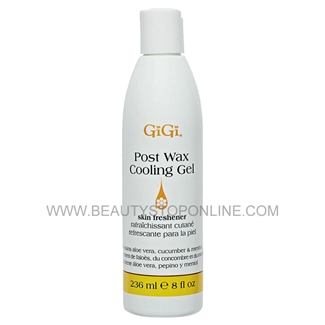GiGi Post Wax Cooling Gel - 8 oz 0785