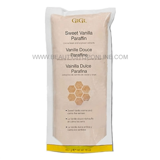 GiGi Vanilla and Soy Paraffin Wax 16 oz 0935