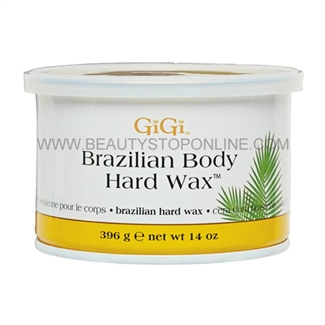 GiGi Brazilian Body Hard Wax 14 oz 0899