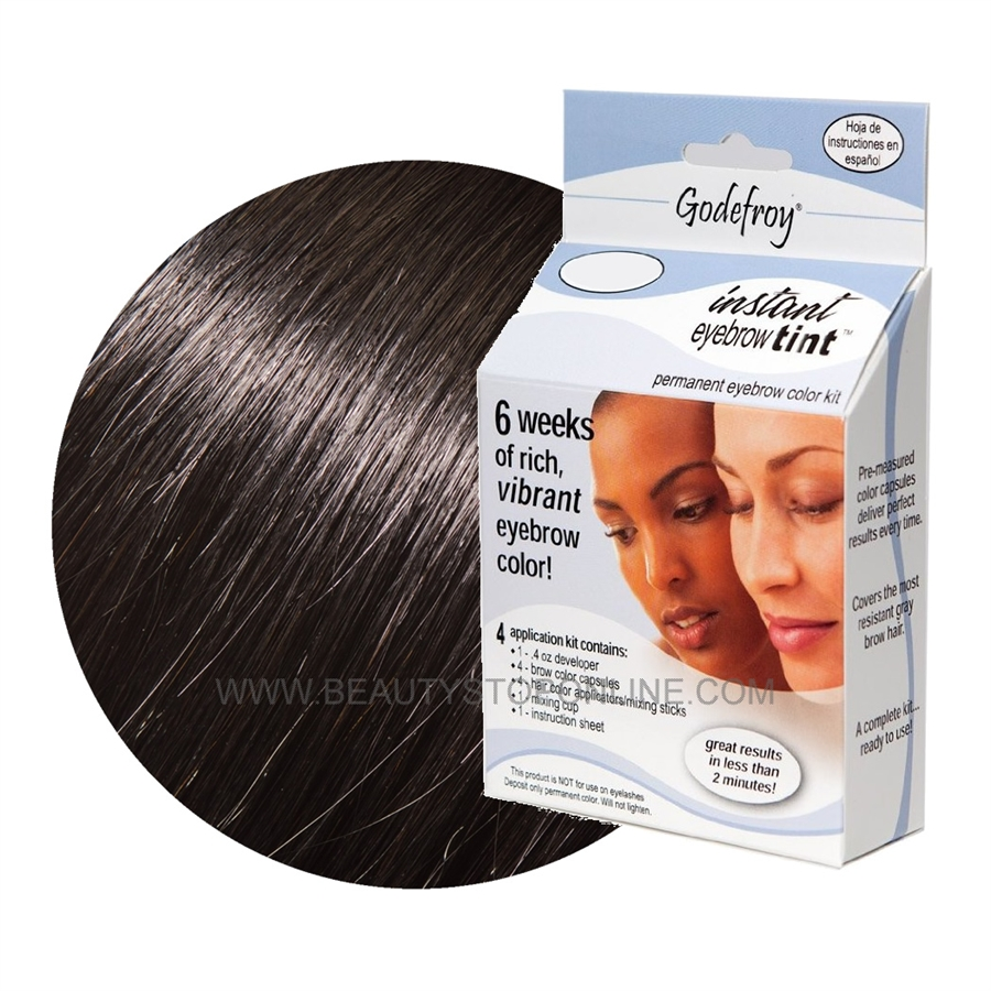 Godefroy Instant Eyebrow Tint 502 Natural Black Beauty Stop Online