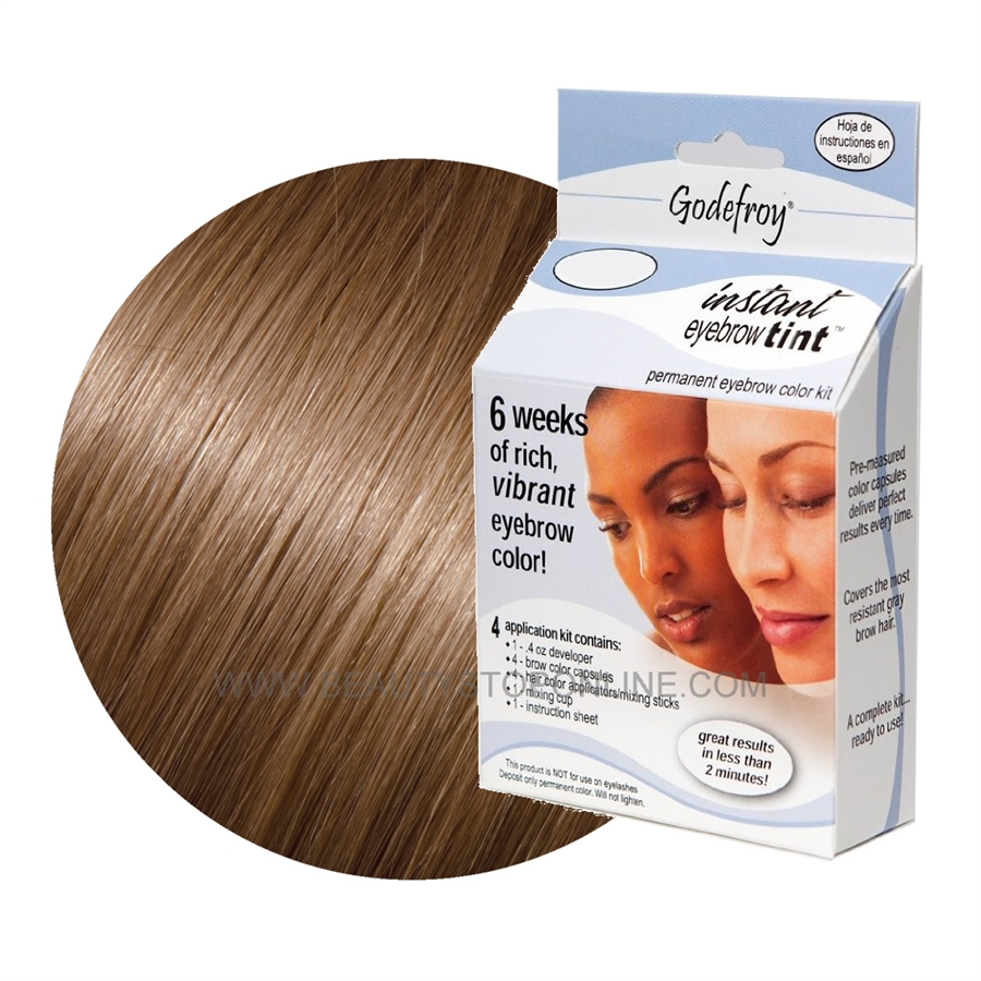 Godefroy Instant Eyebrow Tint 505 Light Brown Beauty Stop Online