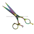 "Hasami A60-R Rainbow 5.5"" Shear With Rotating Thumb & Removable Finger Rest"