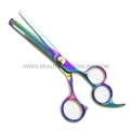 "Hasami J60-R Rainbow 6"" Thinning Shear With 3 Finger Holes"