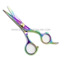 "Hasami O55-R Rainbow 5"" Shear With Finger Rest"