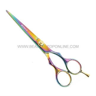 "Hasami S60-R Rainbow 6"" Shear With Removable Finger Rest"