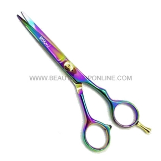"Hasami V65-R Rainbow 6"" Shear With Removable Finger Rest"