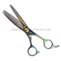 "Hasami Y65-R Rainbow 6"" Feathering and Texturizing Shear"