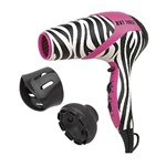 Hot Tools Ionic Tourmaline Hair Dryer - Pink Zebra (1875 Watt)