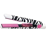 "Hot Tools Ceramic Tourmaline Pink Zebra Flat Iron - 1"" (#HT3161)"