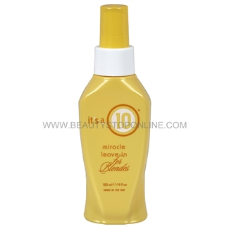 It's a 10 Miracle Leave-In for Blondes, 4 oz