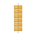 "Jet Set EZ Yellow Grip Rollers - 1 1/4"" (6 Pack)"