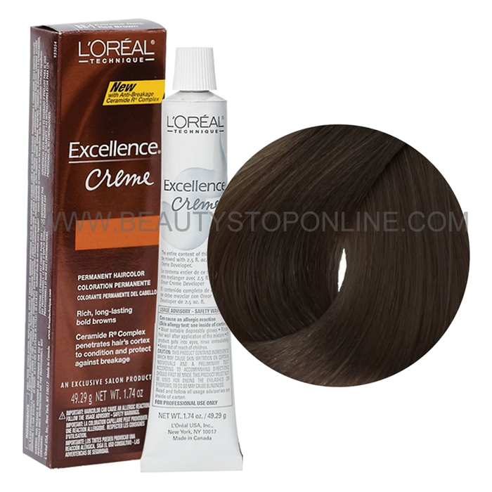 L Oreal Excellence Resistant Gray Light