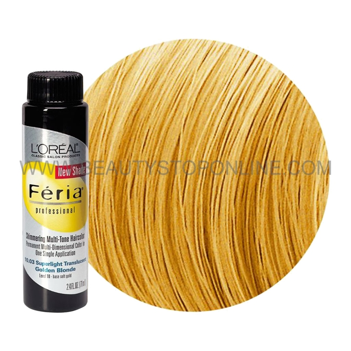 Lu0027Oreal Feria Brilliant Light Golden Blonde 9.30