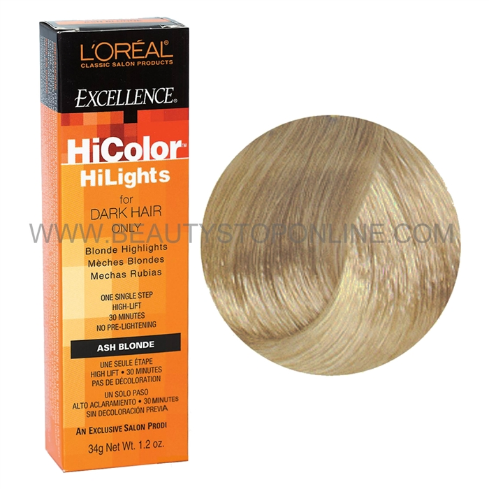 Loreal Excellence Hicolor Blonde Ash Blonde Beauty Stop Online