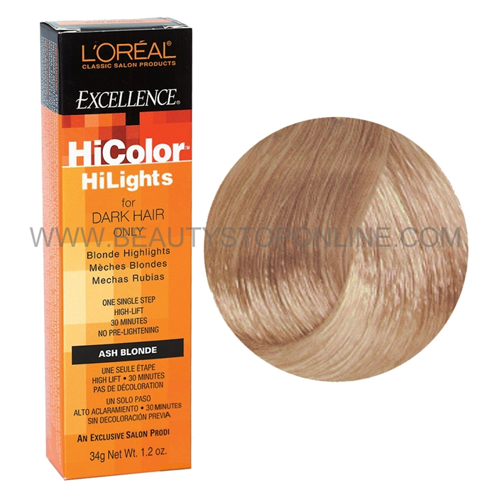 L Oreal Excellence Hicolor Blonde Hilights Natural