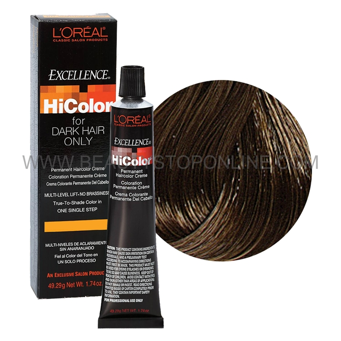 Loreal Excellence Hicolor Light Cool Brown H2 Beauty Stop Online