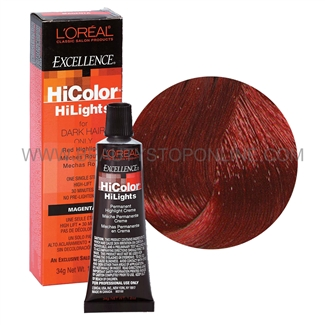 L Oreal Excellence Hicolor Red Hilights Red Beauty Stop