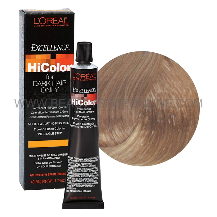 L Oreal Excellence Hicolor Vanilla Champagne H14 Beauty