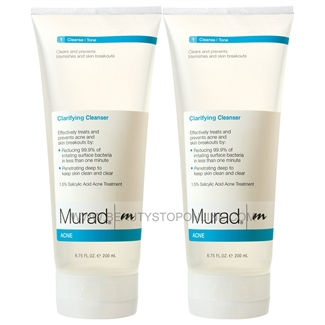 Murad Acne Clarifying Cleanser, 2pk