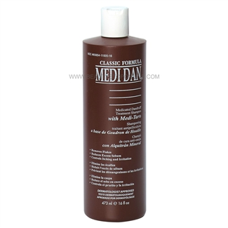 Medi Dan Medicated Dandruff Treatment Shampoo 8 oz